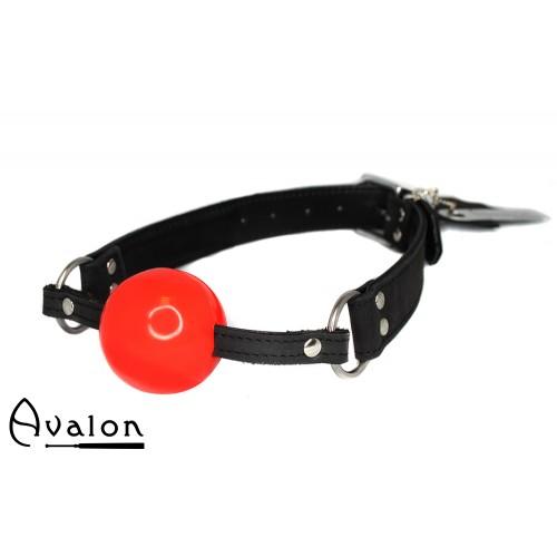 Avalon - QUIET - Gag med rød ball 40 mm
