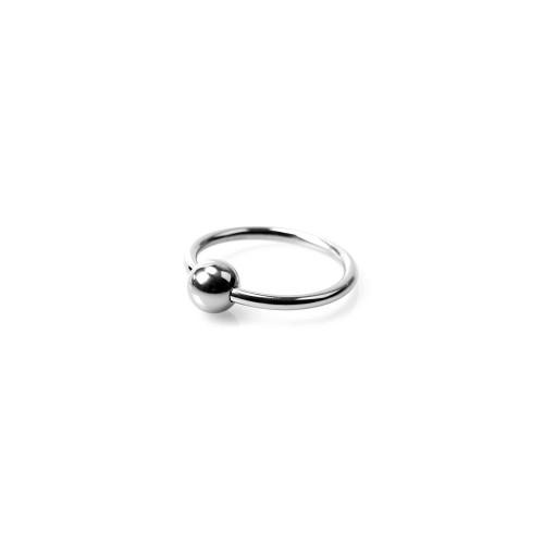 Horse Shoe Glans Ring - Penishodering med Kule - 28 mm