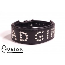 Avalon - YOU'RE MY - Collar Bad girl - Sort
