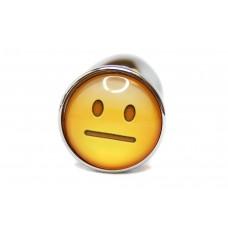 BQS - Buttplug med emoji - Usikker Smiley