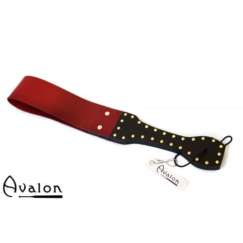 Avalon - MORDRED - Dobbel Silikonpaddle - Sort og Rød