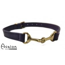 Avalon - Bit - Lilla Collar med bronsefarget bitt