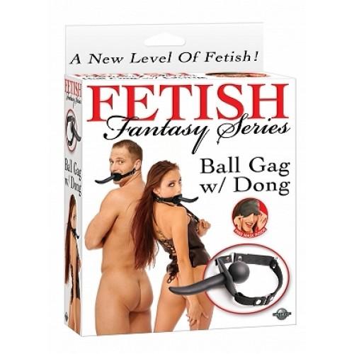 FF Series - Ball Gag med Dong