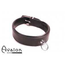 Avalon - DECLARE - Klassisk Collar med O-ring Svart