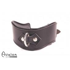 Avalon - GUARDED - Collar med god Polstring, Svart