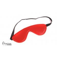 Avalon - BLINDED - Rødt Blindfold med polstring