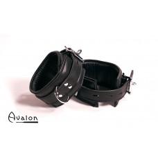 Avalon - ABDUCT - Ankelcuffs i Svart