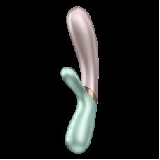Satisfyer - Hot Lover - Varmende Rabbitvibrator med APP - Grønn