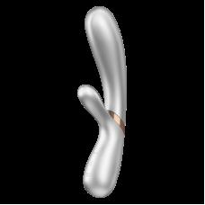 Satisfyer - Hot Lover - Varmende Rabbitvibrator med APP - Rosegull