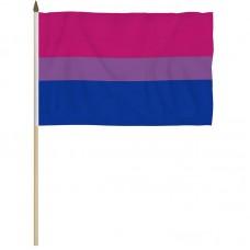 Pride flagg på pinne - Bifil